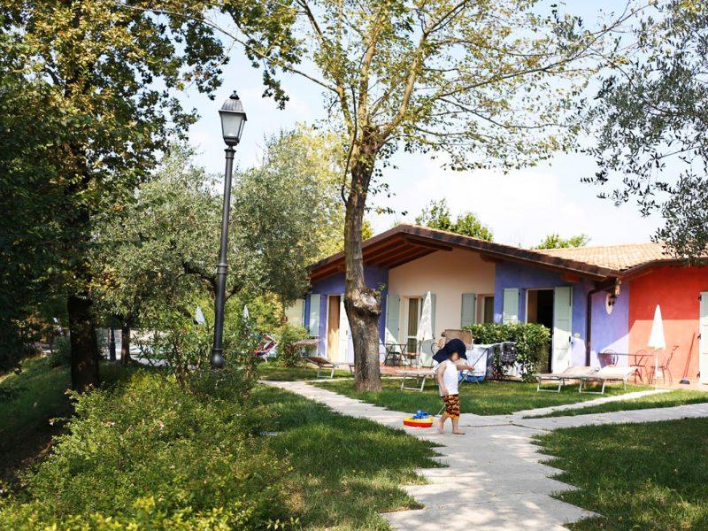 Accommodatie bungalow voorzijde