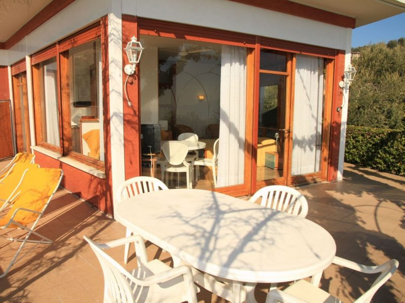 Accommodatie bungalow veranda
