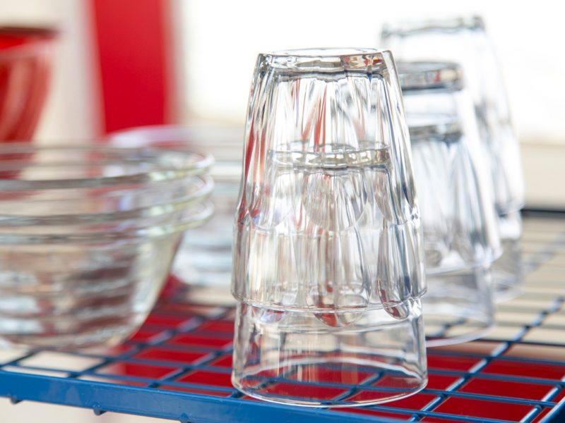 Accommodatie bungalowtent glazen
