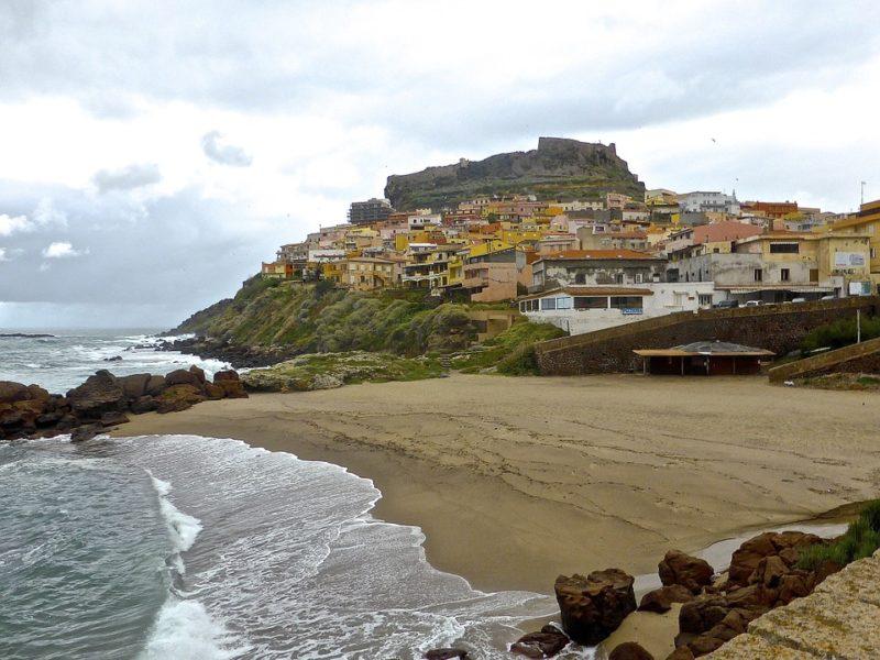 Castelsardo strand