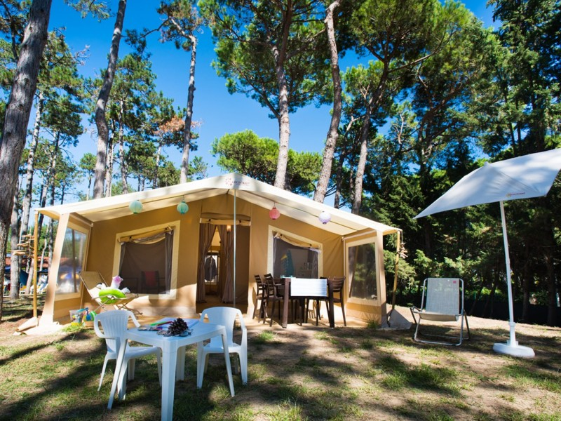 Accommodatie Glamptent