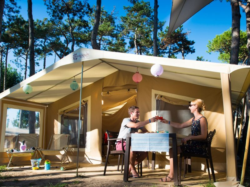 Accommodatie Glamptent selectcamp