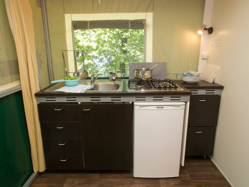 Accommodatie lodgesuite keuken