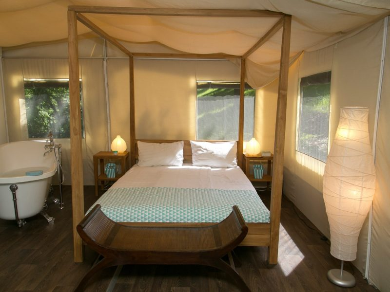 Accommodatie lodgesuite slaapkamer