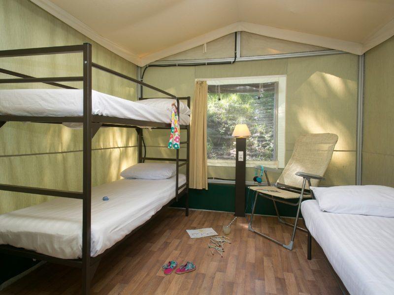 Accommodatie lodgesuite slaapkamers