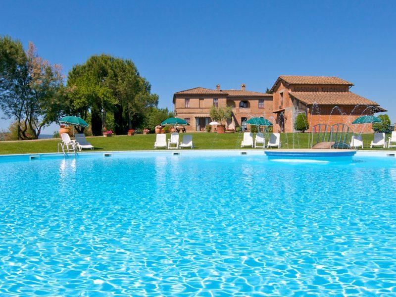Accommodatie agriturismo met zwembad