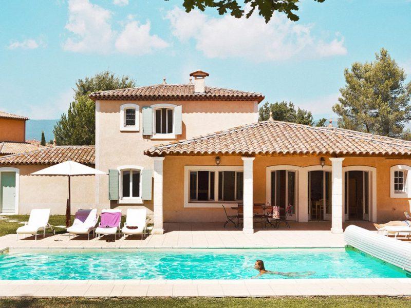 Accommodatie villa met zwembad