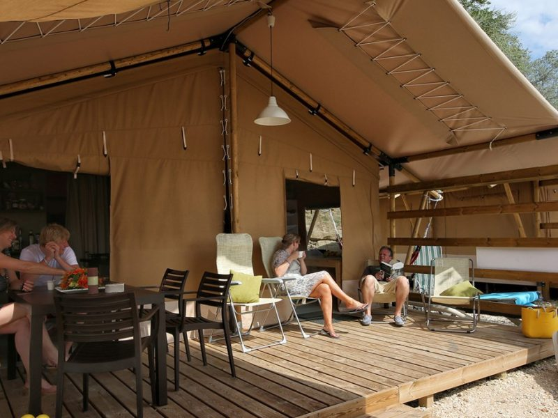 Accommodatie country lodgetent