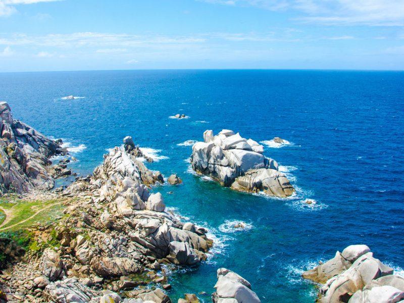 Sardinië kustlijn