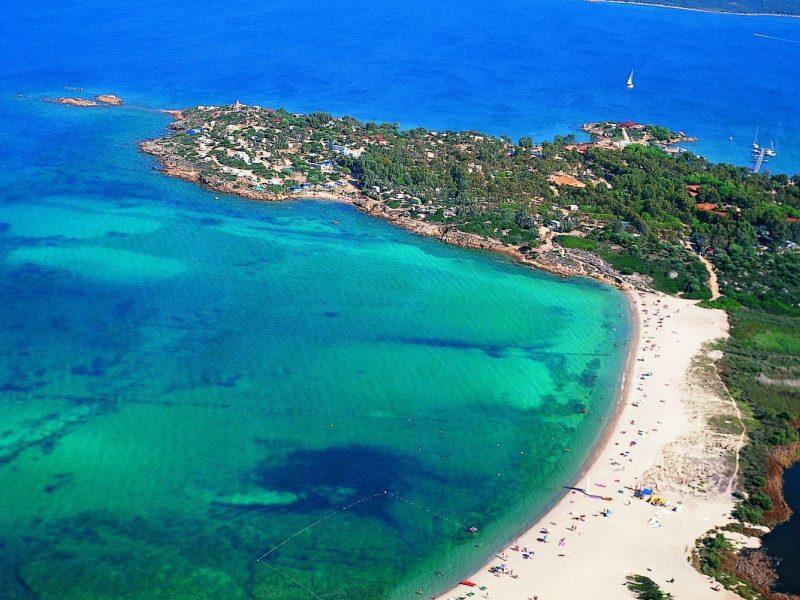 Centro Vacanze Isuledda overzicht camping strand