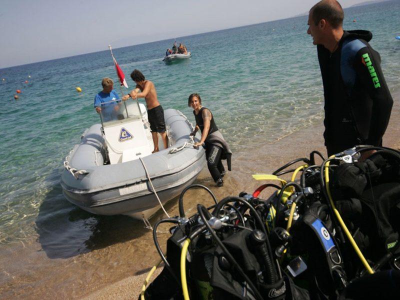 Baia Blu La Tortuga zee boot duiken