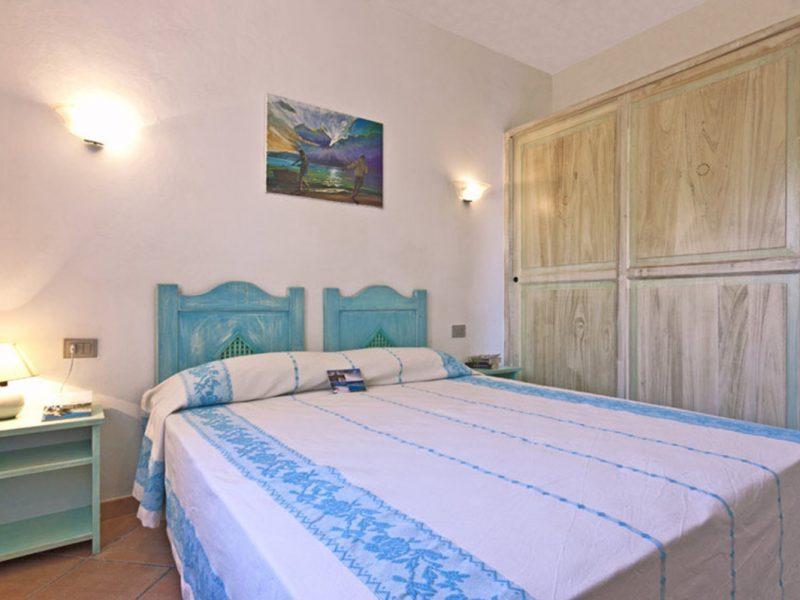 Accommodatie appartement slaapkamer