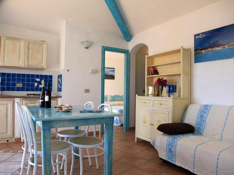 Residence Village Lu Nibareddu vakantiewoning inrichting