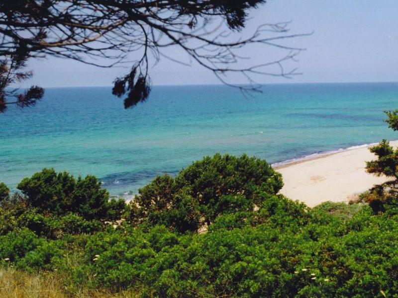 La Foce zee kust
