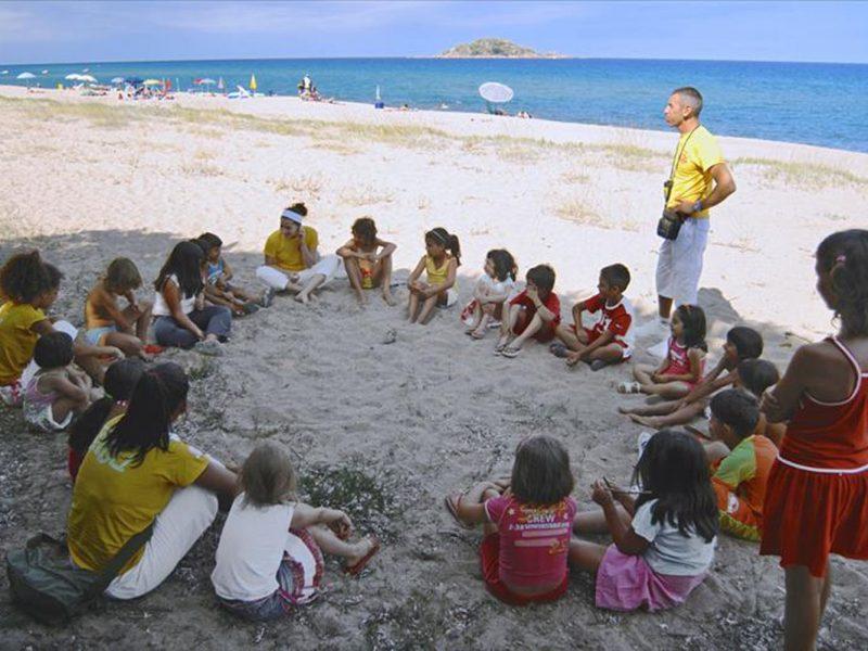 Camping Iscrixedda strand activiteiten