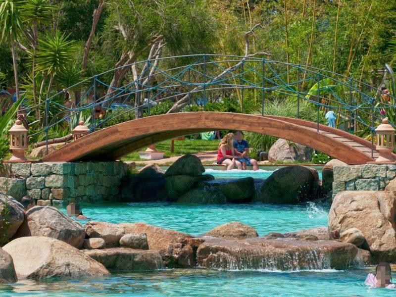 L'Ultima Spiaggia zwembad brug