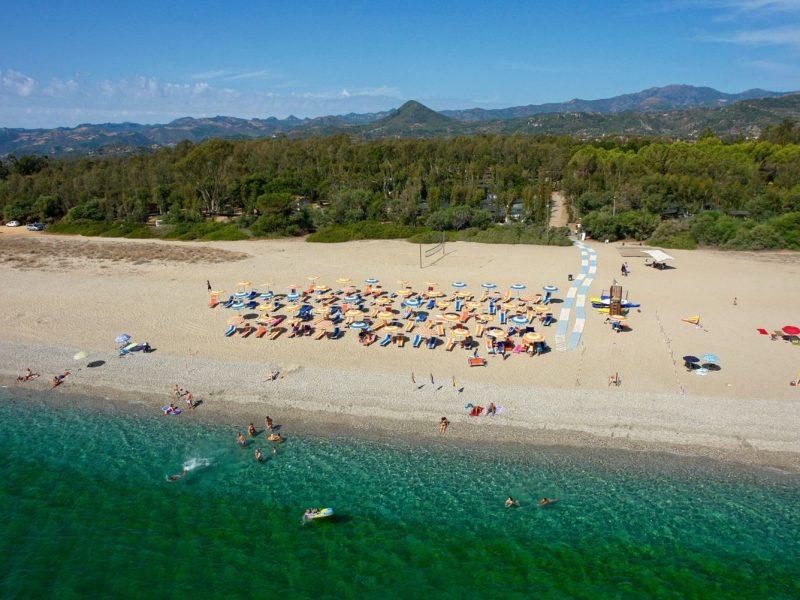 L'Ultima Spiaggia privé strand