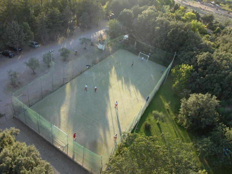 L'Ultima Spiaggia tennisbaan
