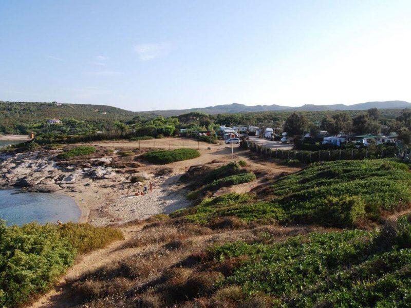 Tonnara camping overview