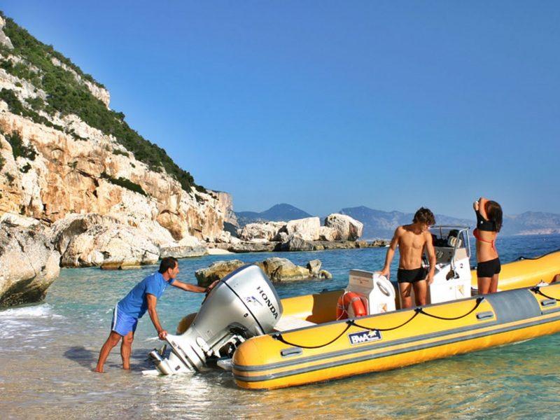 Tonnara boot varen zee