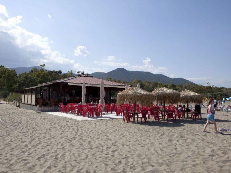 Camping Village 4 Mori strand