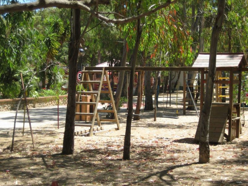 Camping Village 4 Mori speeltuin