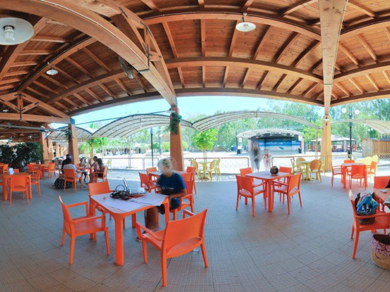 Camping Village 4 Mori lounge