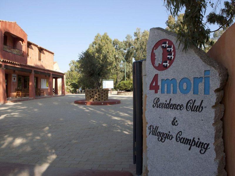 Camping Village 4 Mori entree