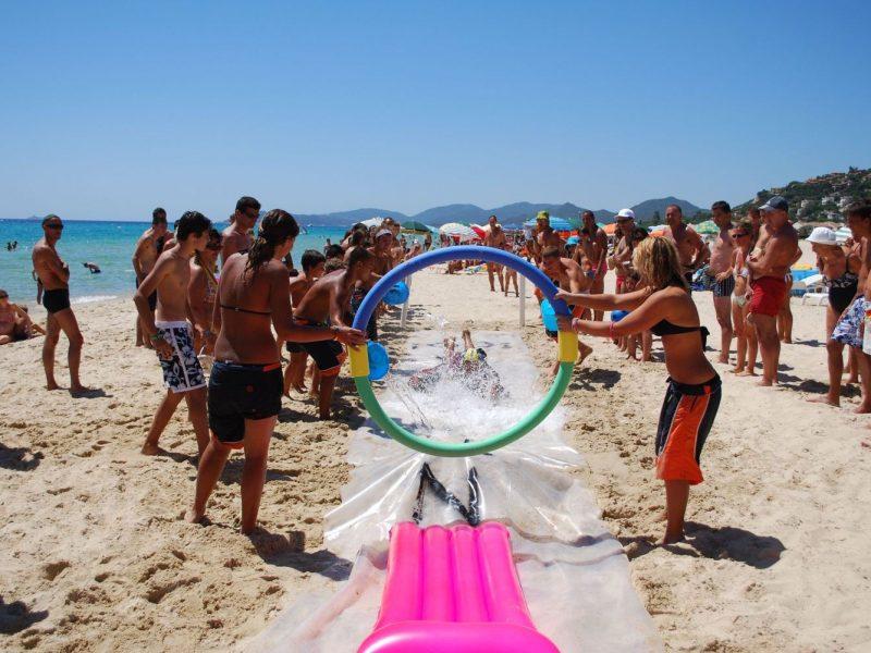 Rey Beach Club Costa Rei strand activiteiten