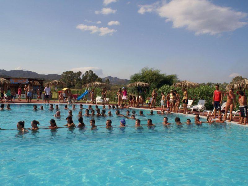 Rey Beach Club Costa Rei zwembad activiteiten
