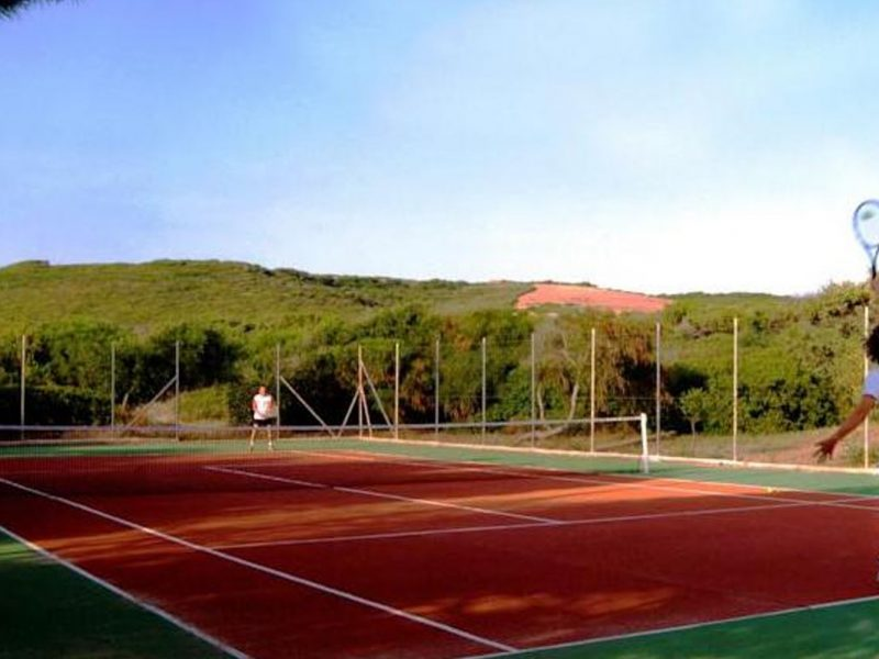 Bella Sardinia tennisbaan