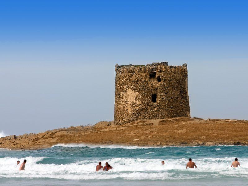 Sardinië ruïne