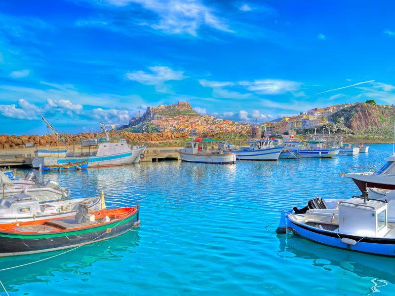 Sardinië haven