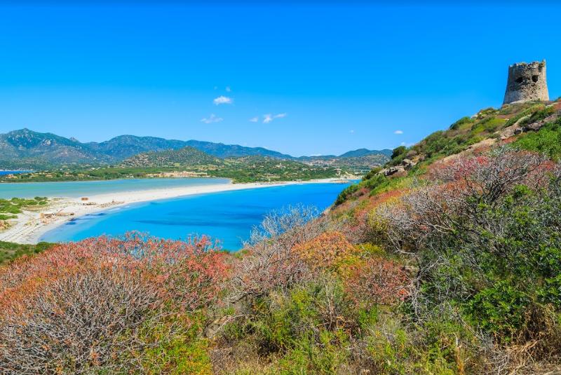 Sardinië landschap