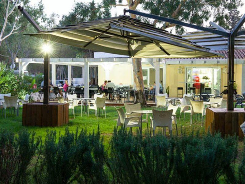 Camping Flumendosa restaurant