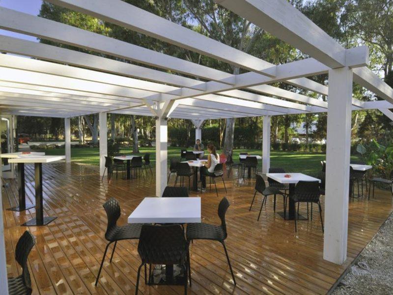 Camping Flumendosa restaurant lounge