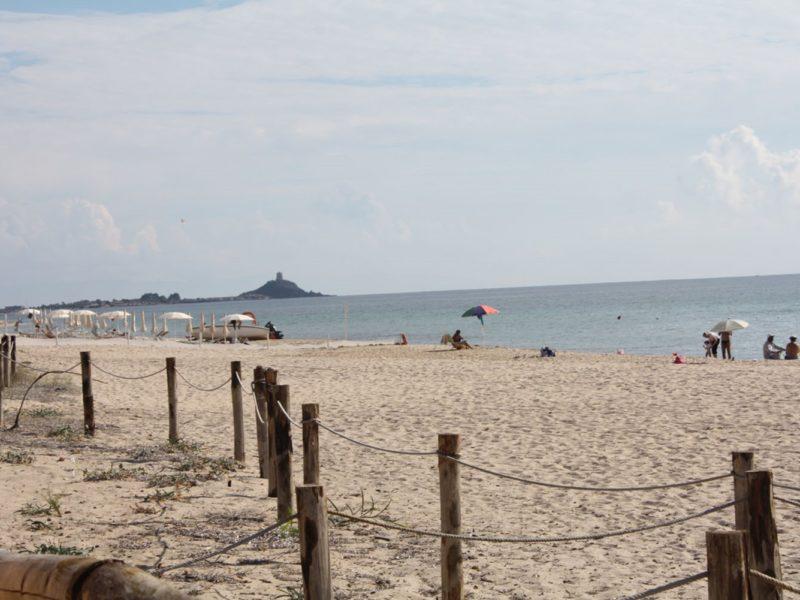 Camping Flumendosa strand zee