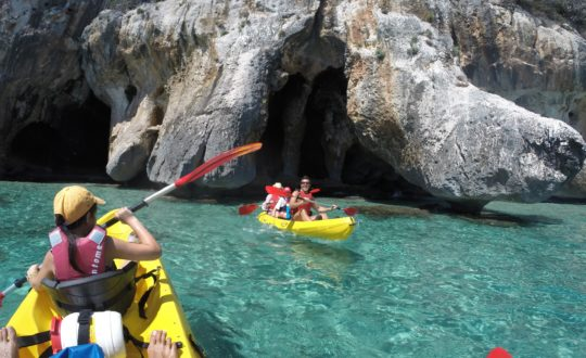 Sportief Sardinië: Canyoning, caving en rotsklimmen