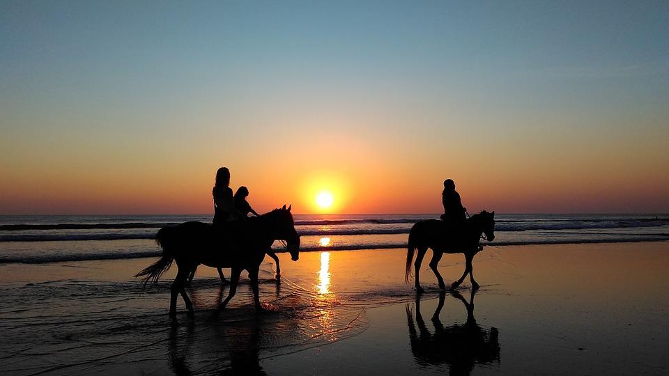 Paardrijden in Sardinië