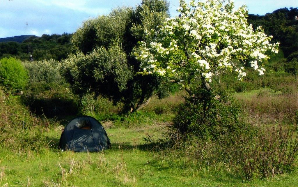 kamperen sardinie