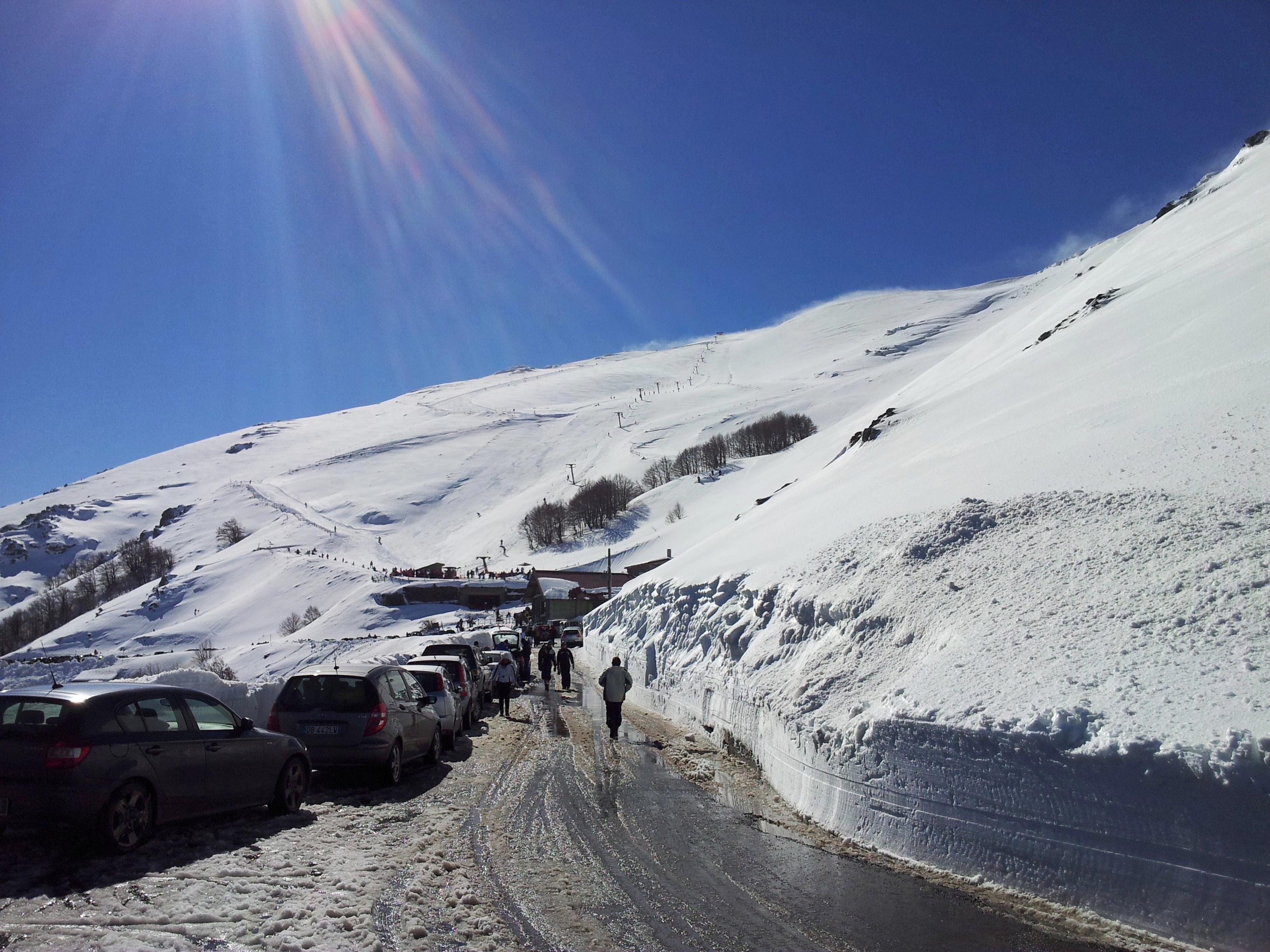 sardinie sneeuw